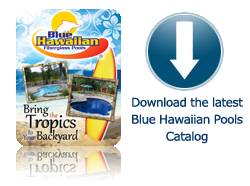Blue Hawaiian Fiberglass Pools Catalog