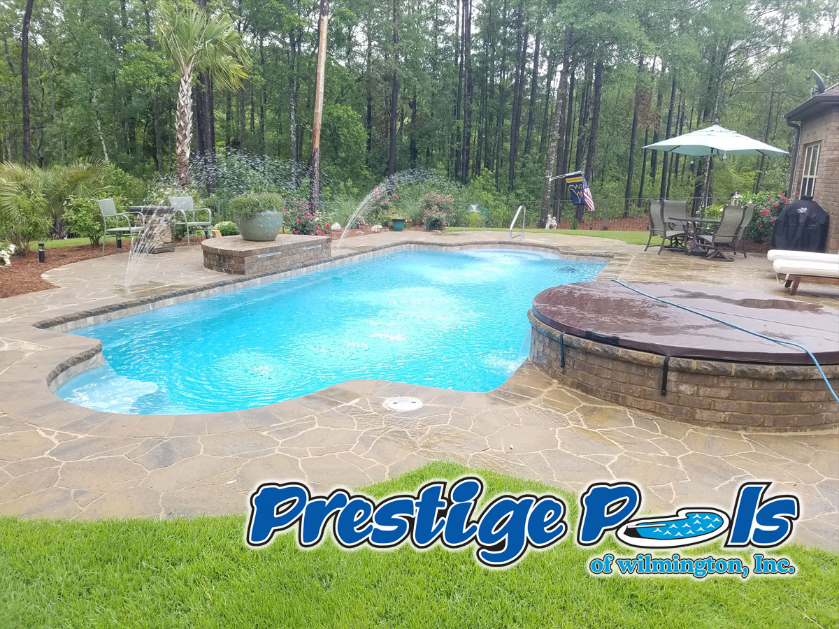 prestige pools of wilmington nc swimming pool photos and pool examples from wilmington pool