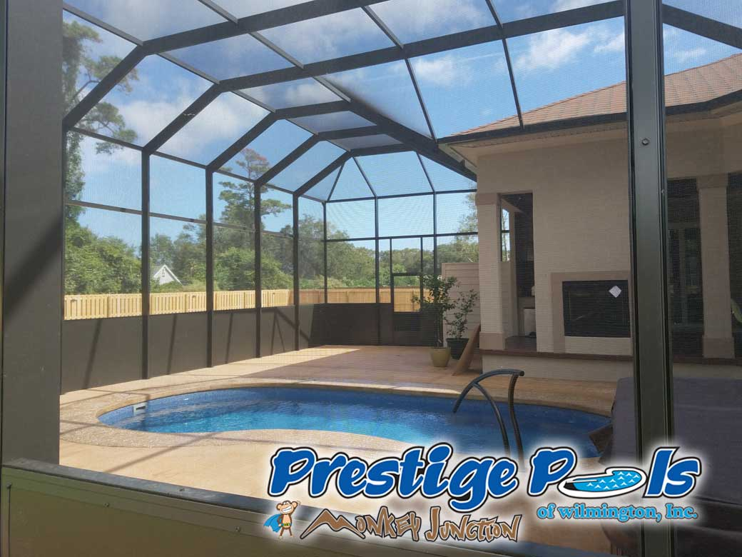 Prestige Pools Of Wilmington Nc Pool Enclosures For