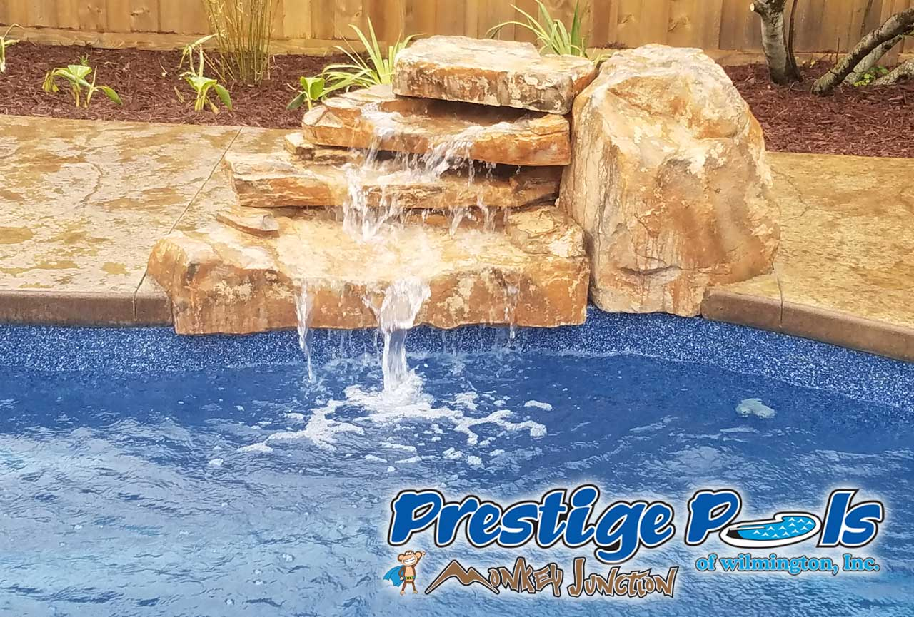 Prestige Pools Of Wilmington Nc Rico Rock Waterfalls