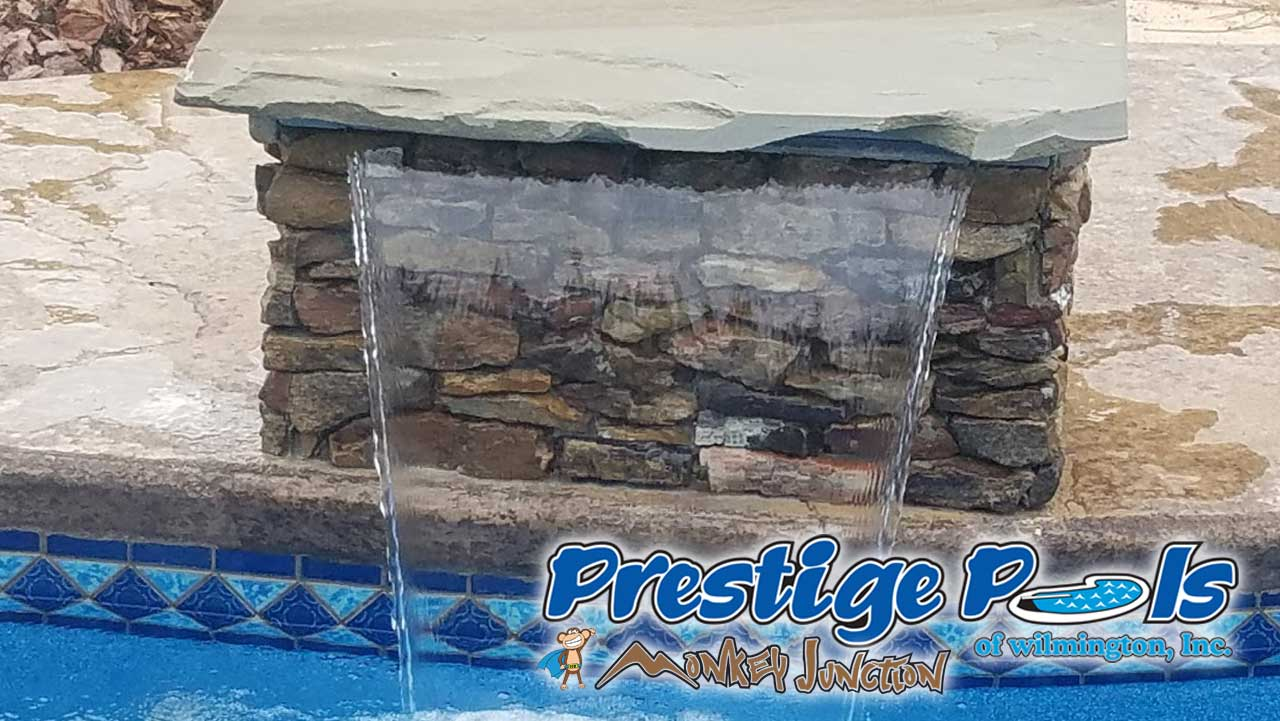 Prestige Pools Of Wilmington Nc Cascade Water Features