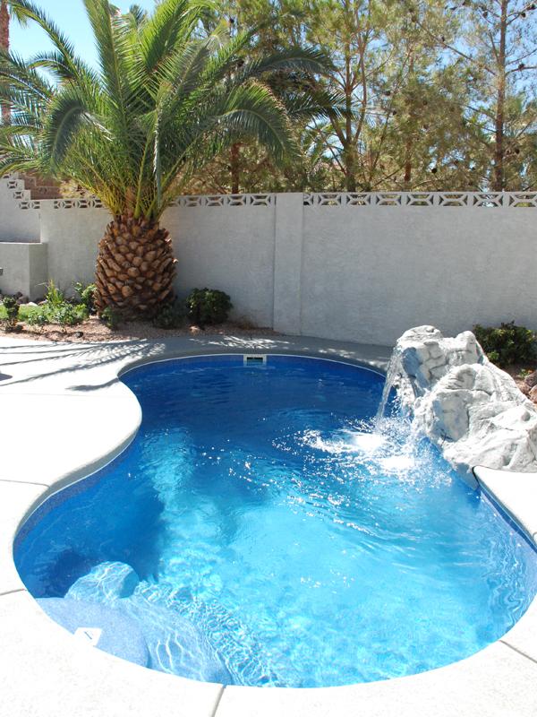 White Tile Pool