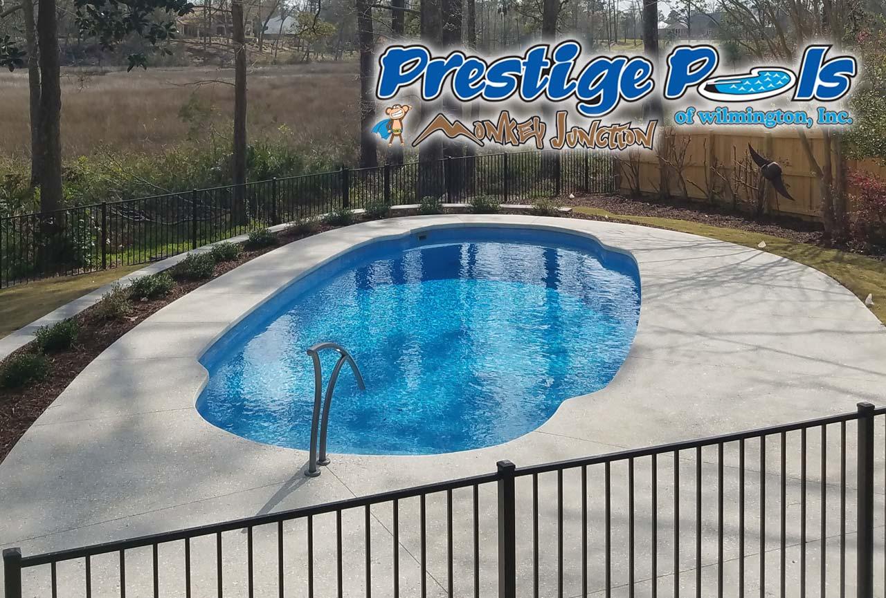 ... Prestige Pools Of Wilmington NC Swimming Pool With Custom Decking ...
